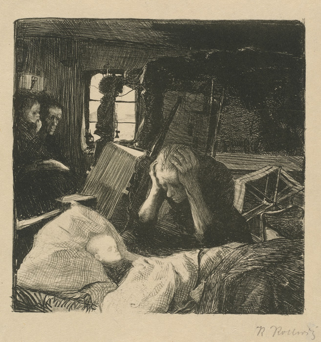 Poverty by Kathe Kollwitz