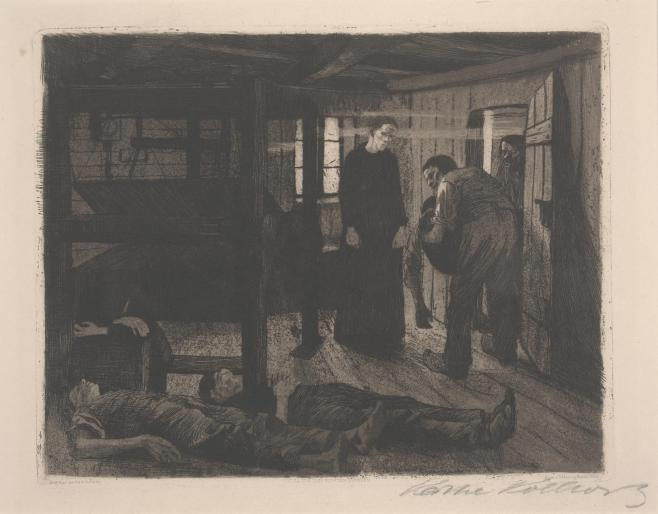 The End by Kathe Kollwitz