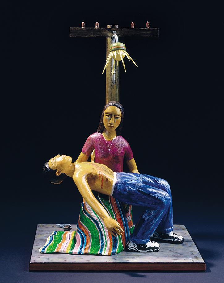 Pieta by Luis Tapia