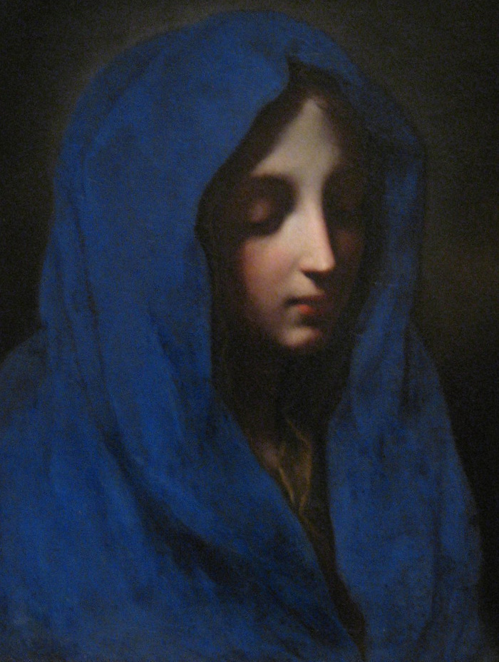 The Blue Madonna by Carlo Dolci