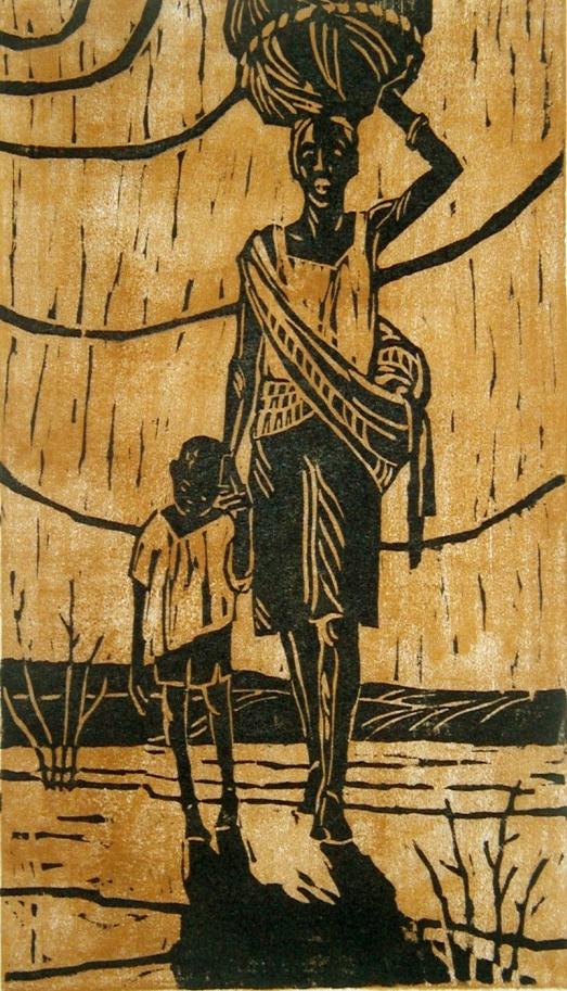 African Exodus by Margaret Adams Parker