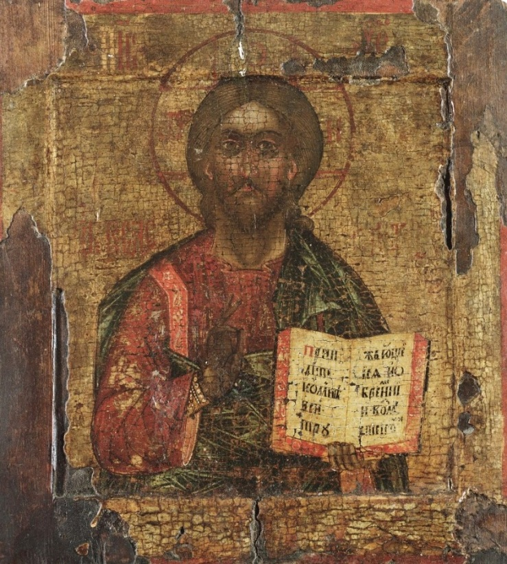 Christ Pantocrator icon (17th century)