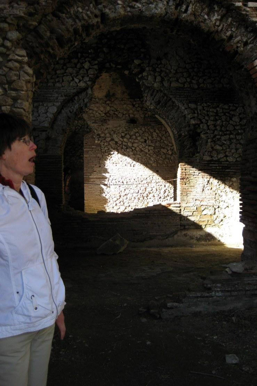 Aunt Marjie at Villa Jovis
