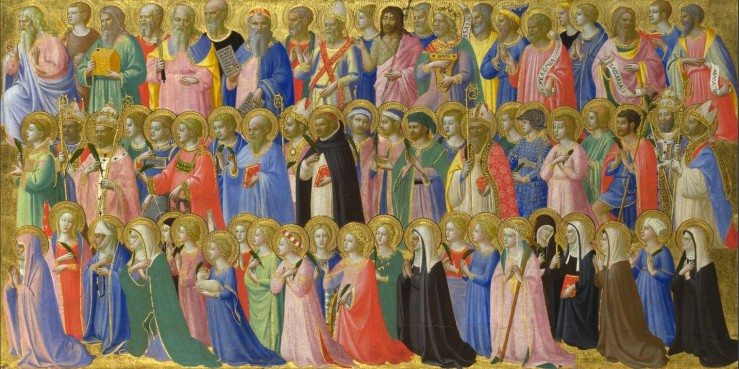 Saints and Martyrs (Fra Angelico)