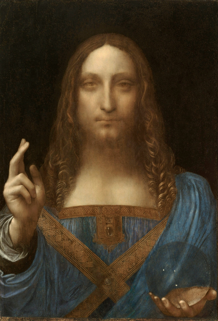 Salvator Mundi attributed to Leonardo da Vinci