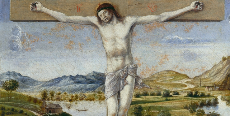 Crucifixion (detail) by Giovanni Bellini