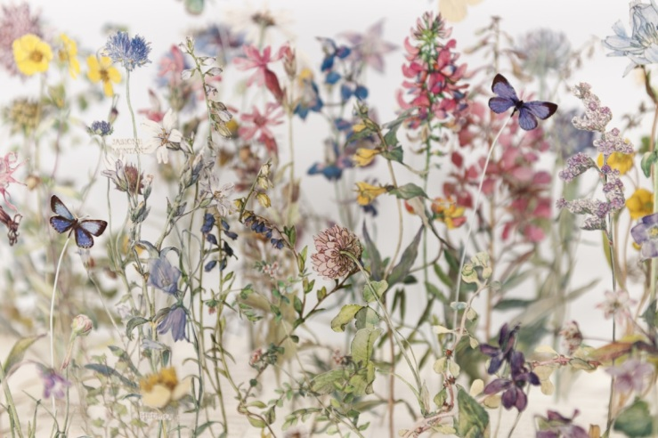 Wild Flowers of the British Isles (detail) by Su Blackwell