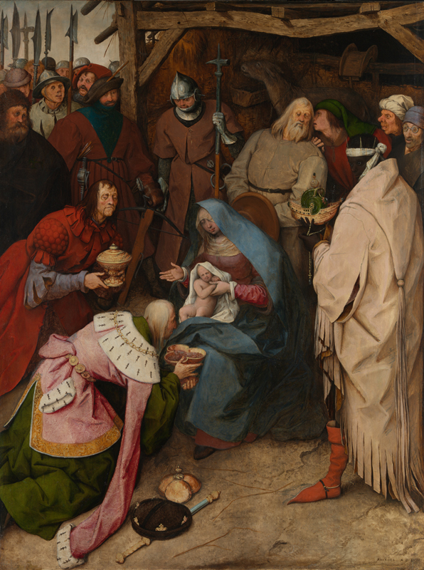 Adoration of the Kings by Pieter Bruegel