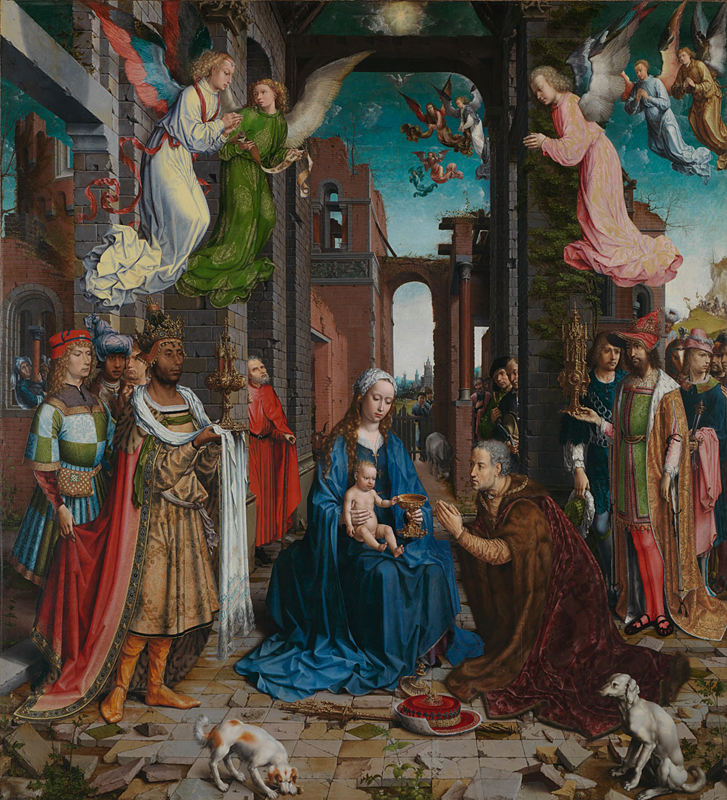Adoration of the Kings by Jan Gossaert