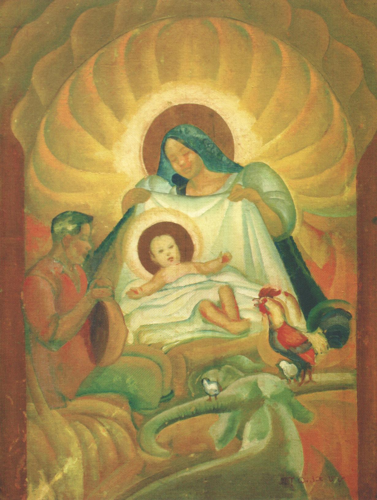 Nativity by Galo Ocampo