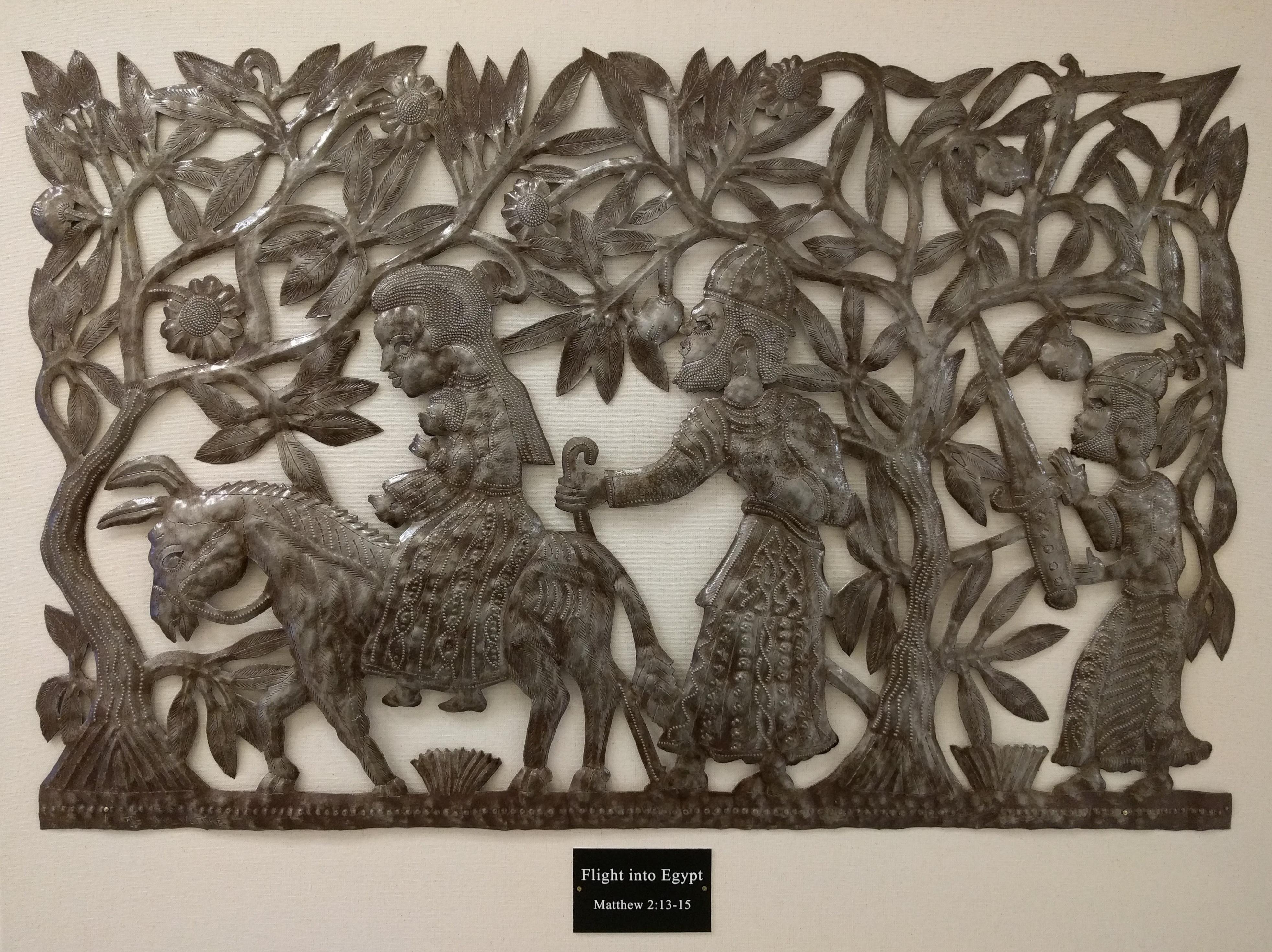 Flight into Egypt by Jean Sylvestre