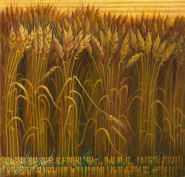Wheat by Thomas Hart Benton