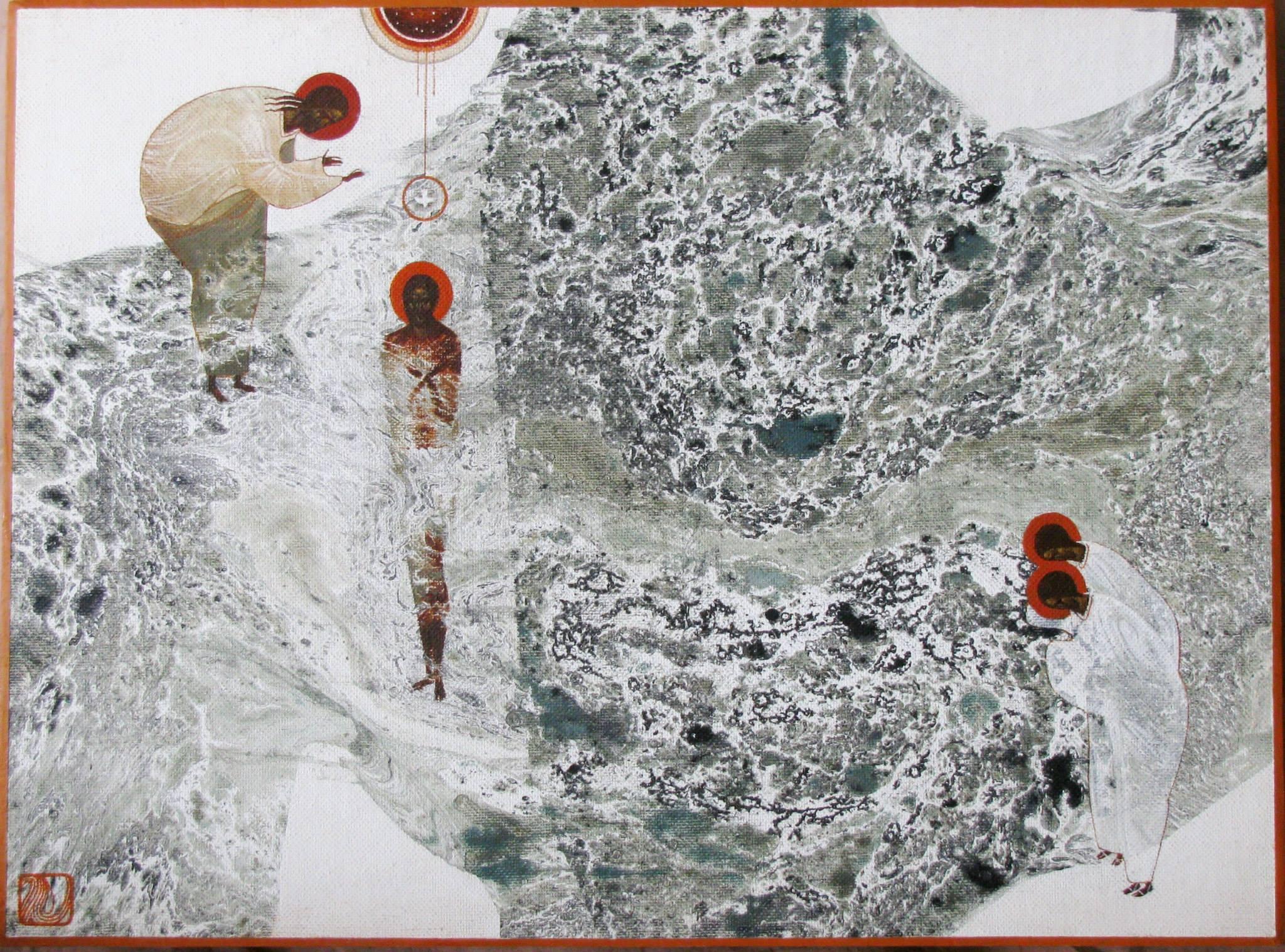 Baptism of Christ by Ivanka Demchuk