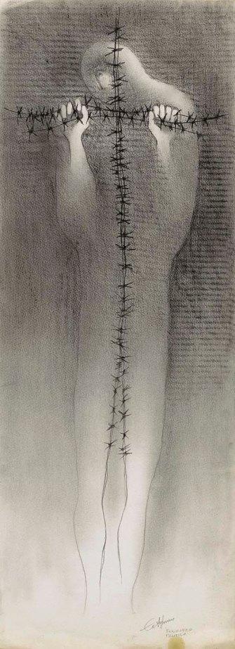 Political Prisoner (study)by Roberto Estopinan