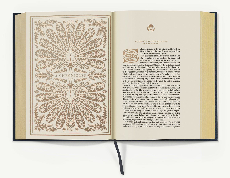 ESV Illuminated Bible spread