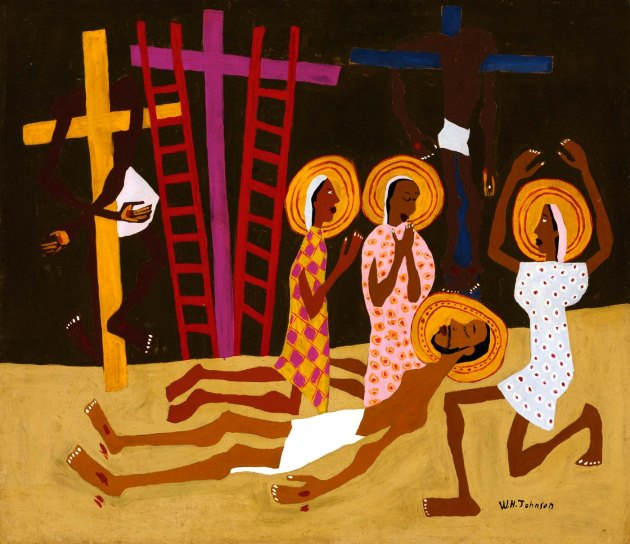Lamentation by William H. Johnson