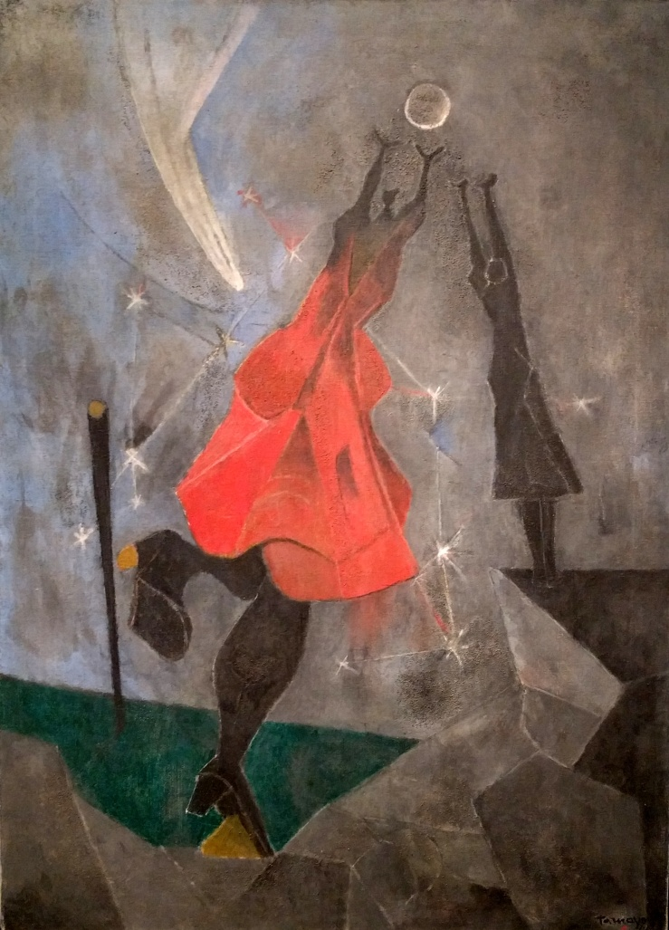 Women Reaching for the Moon by Rufino Tamayo