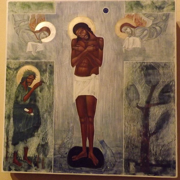 Baptism of Christ by Ulyana Tomkeyvch