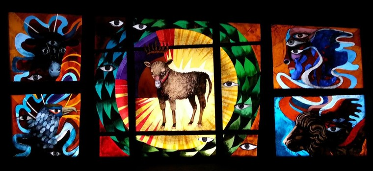 Lamb of God by Arcabas