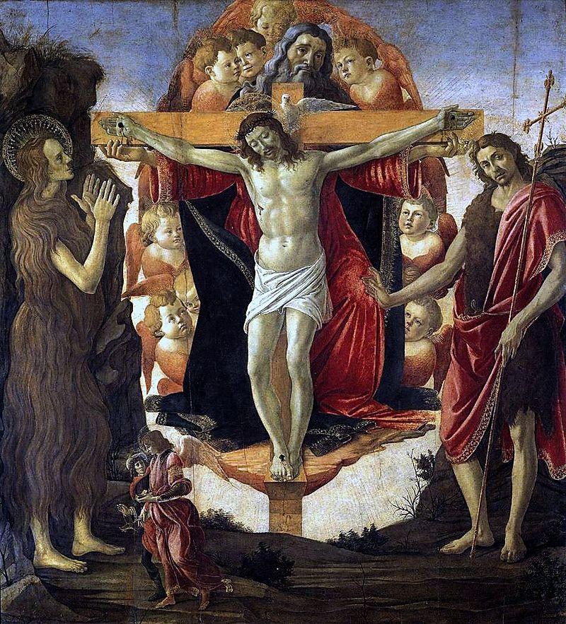 Holy Trinity by Sandro Botticelli