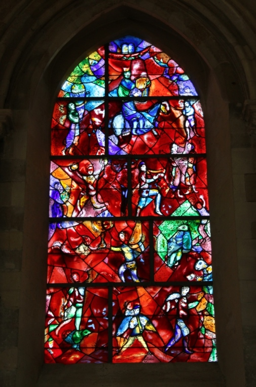 Psalm 150 window by Marc Chagall