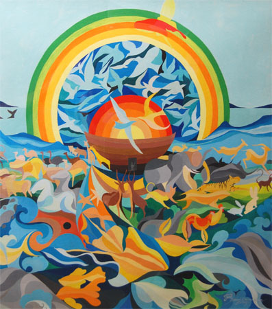 Genesis 9:13 by Sawai Chinnawong