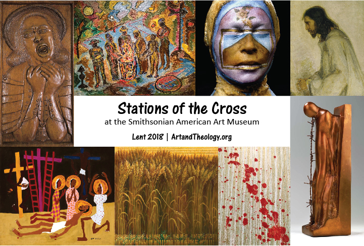photograph about Stations of the Cross for Youth Printable referred to as Stations of the Cross at the SAAM Artwork Theology