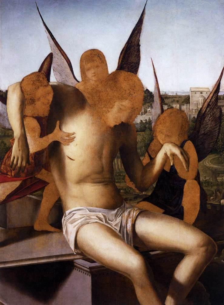 Pieta by Antonello da Messina