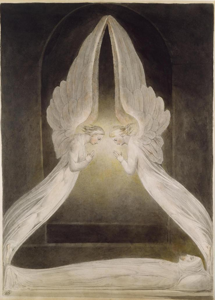 Christ in the Sepulchre by William Blake