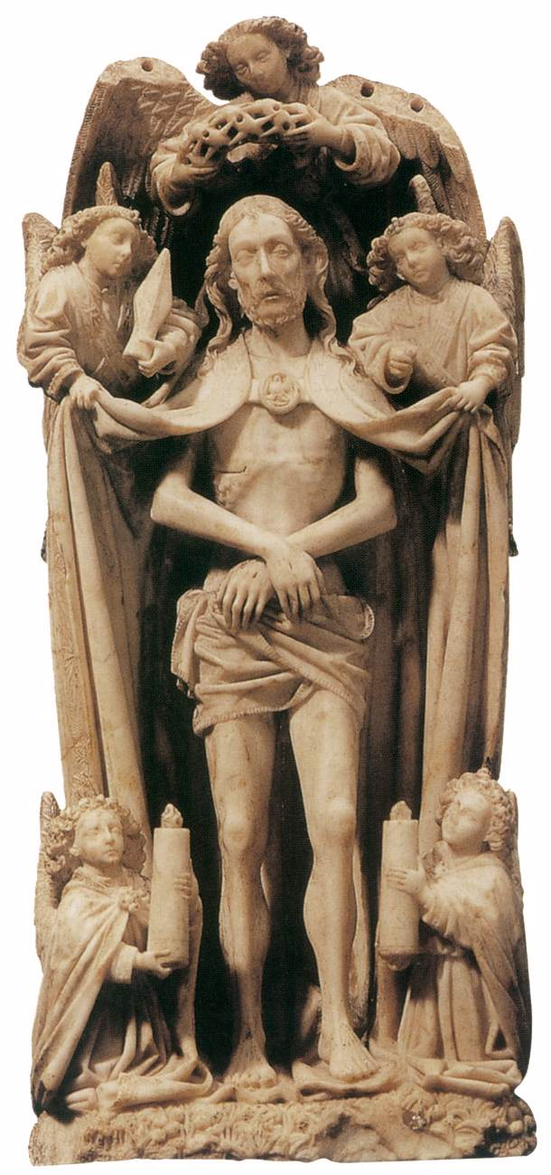 Christ as Man of Sorrows (alabaster)