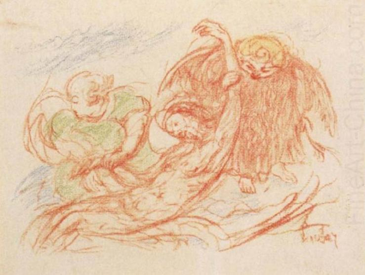 Christ and Angels by James Ensor