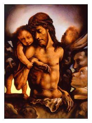 Man of Sorrows by Peter Howson