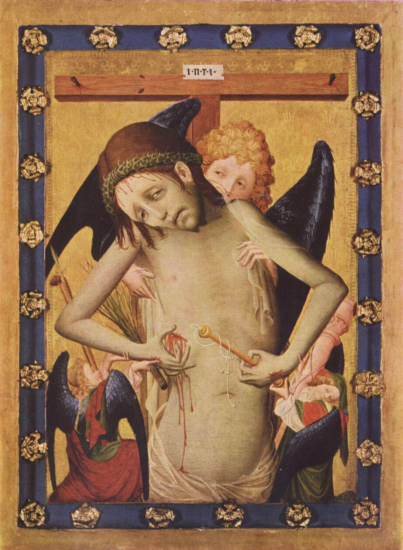 Man of Sorrows by Master Francke