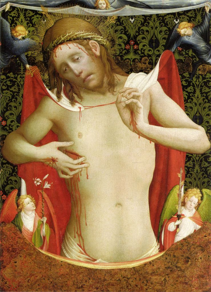 Man of Sorrows by Master Francke