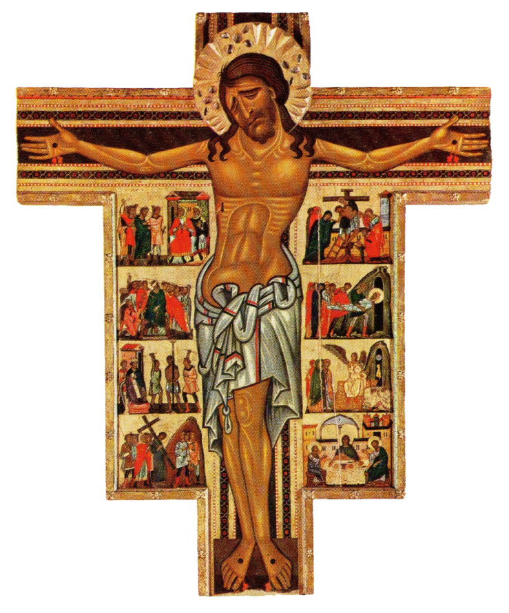 Pisan crucifix (13th c)