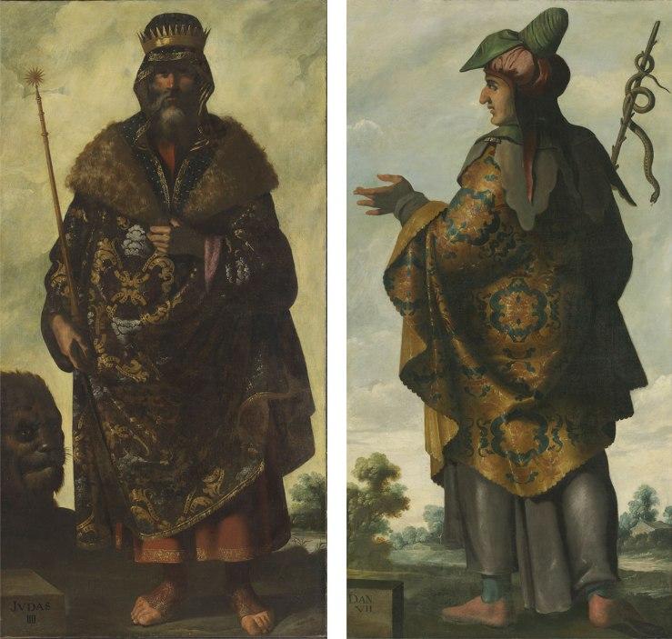 Judah and Dan by Francisco de Zurbarán