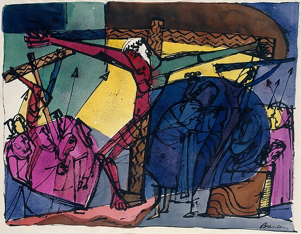 Crucifixion by Romare Bearden