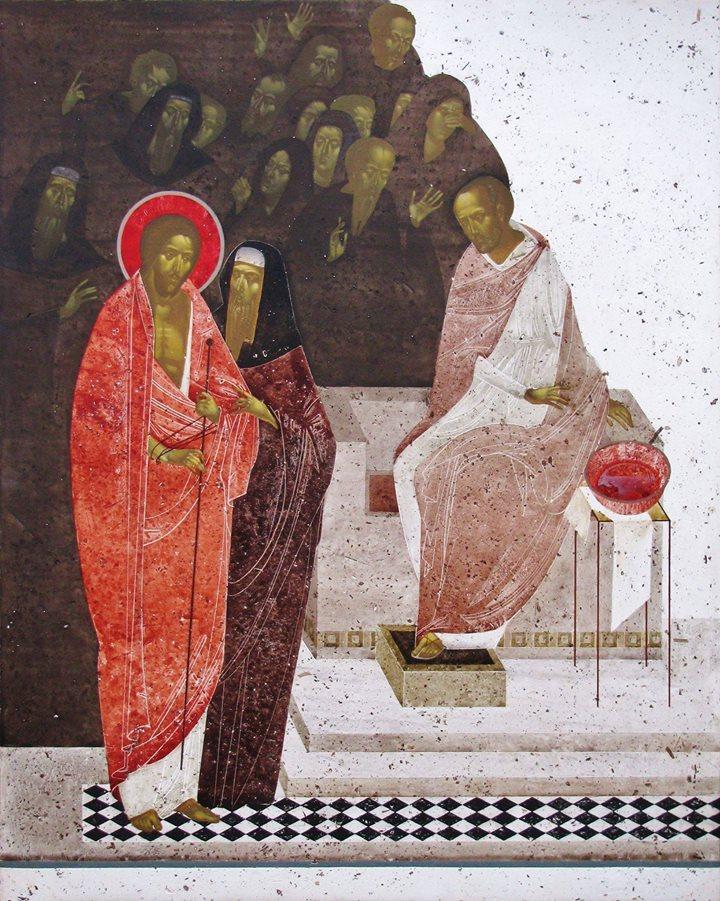 Pilate Condemns Jesus to Death by Ivanka Demchuk