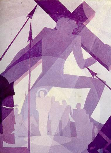 Crucifixion by Aaron Douglas