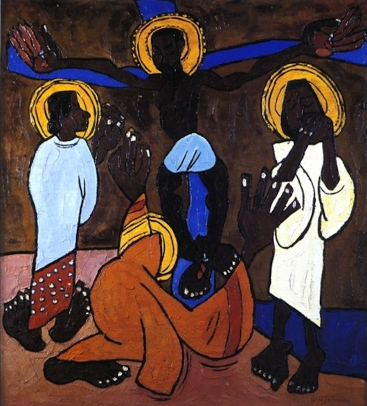 Jesus and the Three Marys by William H. Johnson