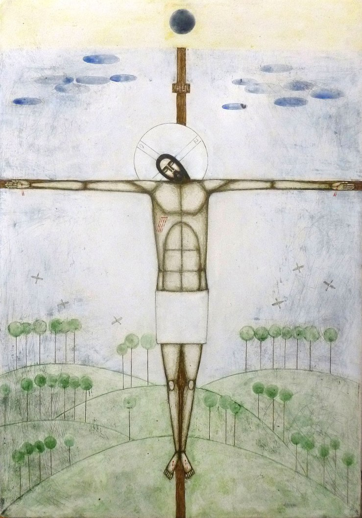 Crucifixion by Natalya Rusetska