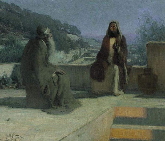 Nicodemus by Henry Ossawa Tanner