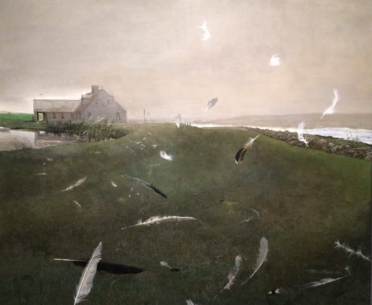 Airborne by Andrew Wyeth