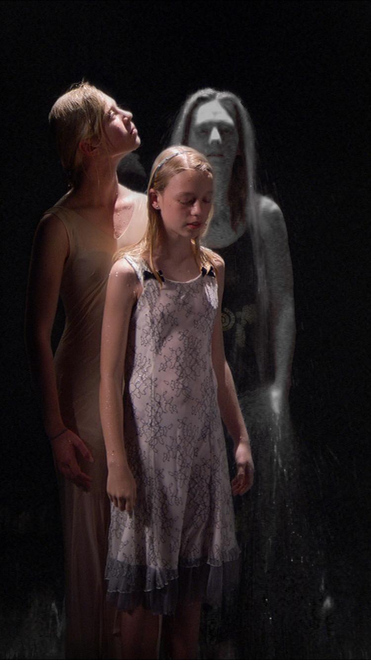 Three Women by Bill Viola