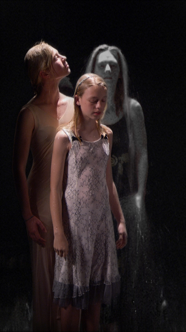 Three Women by Bill Viola