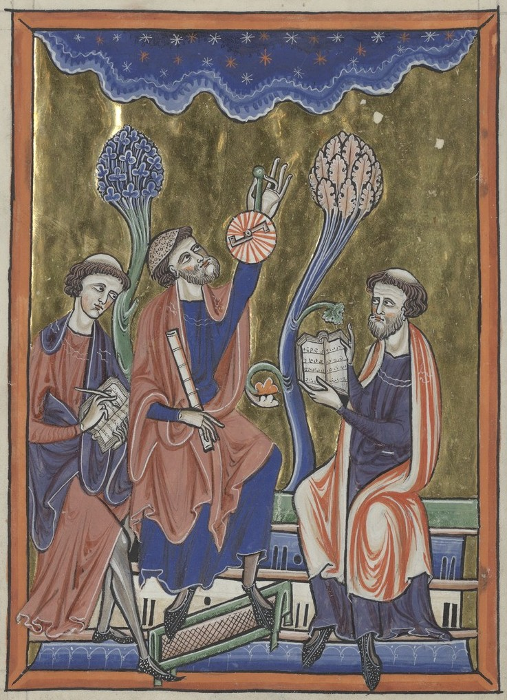 Astronomers (Sainte-Chapelle Psalter)