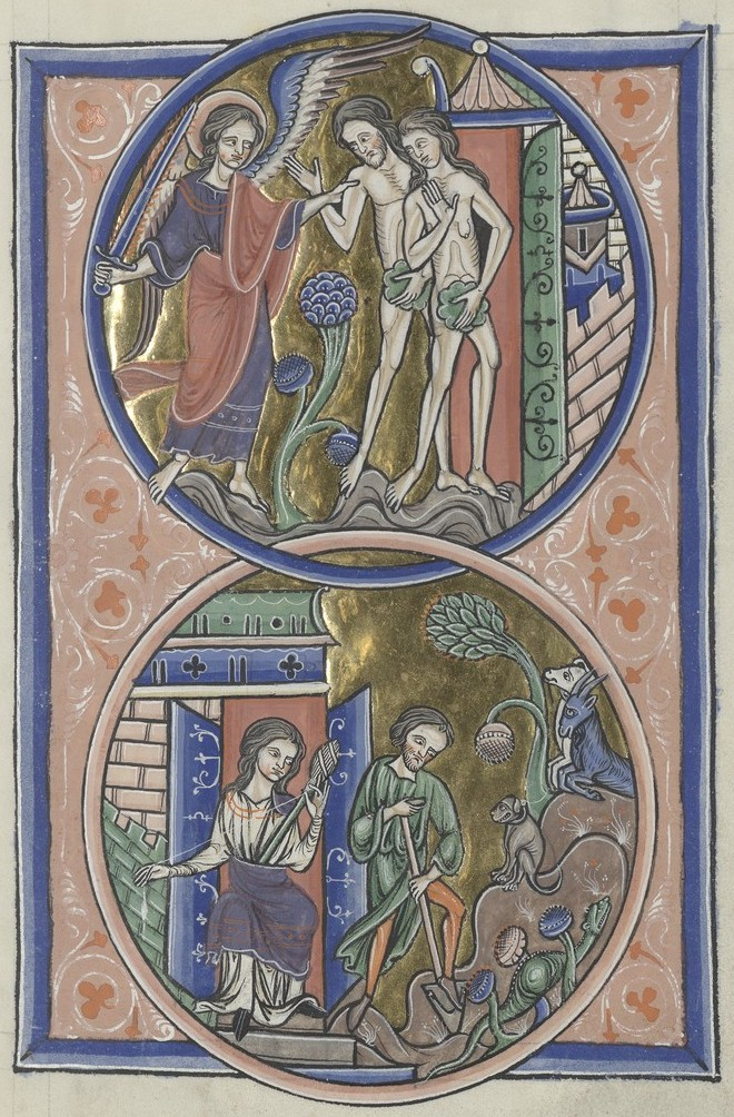 Expulsion from Paradise (Sainte-Chapelle Psalter)