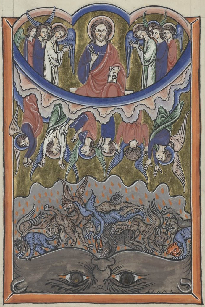 Fall of the Rebel Angels (Sainte-Chapelle Psalter)