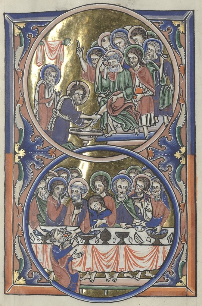 Last Supper (Sainte-Chapelle Psalter)
