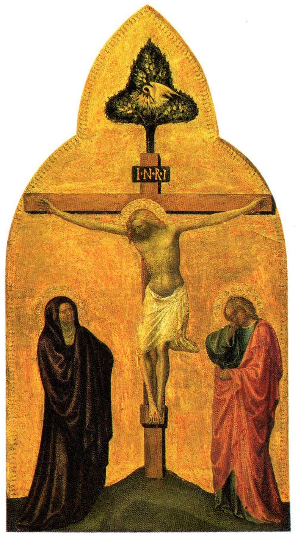 Crucifixion by Masolino